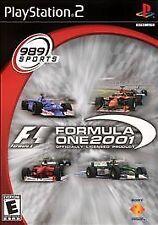 Formula One 2001 (Sony PlayStation 2, 2001) - European Version