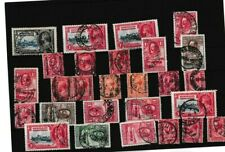 GOOD LOT OF KGV BECHUANALAND PROTECTORATE STAMPS WITH GOOD CANCELS 68*