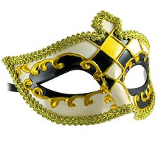 Venetian HARLEQUIN | Filigree MENS WOMENS MASQUERADE Mask | Fancy Dress BALL