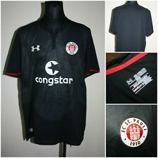 UNDER ARMOUR Men's size 2LARGE (fitted) FC ST.PAULI Jersey / T-Shirt