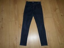 MARKS AND SPENCER NAVY JEGGINGS WITH STRETCH SIZE 12 REG