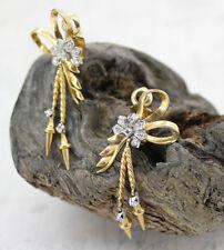 18 Carat Diamond Drop/Dangling Victorian Fine Jewellery