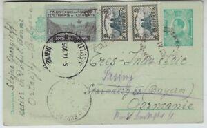 Bulgarien, GA-Postkarte Ortakjoj - Starnberg - Pasing 1926