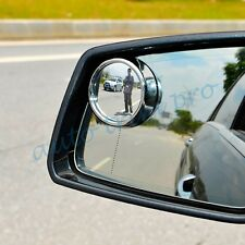 Car Accessories Rear view Side Wide Angle Blind Spot Mirror Decoration Parts