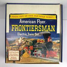 Vintage 1959 American Flyer Frotiersman Electric Train Set + Extras - #20552