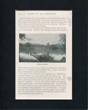 Battle Of Franklin's Crossing Antietam Civil War Original Book Photo Display