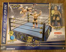 Unopened WWE Hall Of Fame Retro WCW Ring Dusty Rhodes Elite Figure Mattel Target