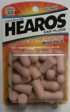 RARE! OLD DESIGN! HEAROS Ultimate Softness, 20 pairs, 32 NNR., Ear plugs, #2525