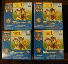 Lot of 4 New Sealed Paw Patrol Blind Box Mighty Pups Figures Series 1