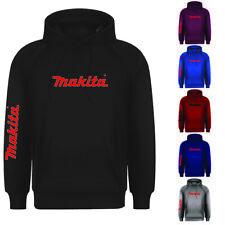 New Mens Makita Power Tool Workwear Uniform Pullover Hooded Hoodie Top S-4xl