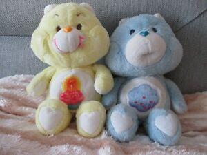 2 x Vintage Care Bears ( Grumpy & Birthday)