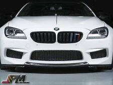 RKP Style Carbon Fiber Front Center Lip Spoiler For BMW F13 M6 Coupe 14-16