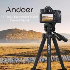 Andoer 57.5''Lightweight Camera Tripod For Photography Video DSLR SLR Camcorder