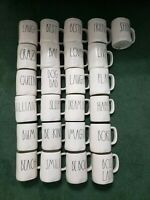 "Rae Dunn ""You Choose"" Large Letter Mugs"