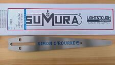 """10"""" Simon O'Rourke signature chainsaw carving bar by Tsumura .050 gauge ECHO"""