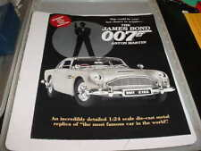 New ListingDanbury Mint-007, Aston Martin, Advertising Brochure
