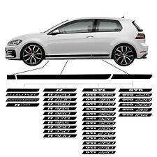 VW Golf 7 mk VII Seitenstreifen Side strips 3 türer doors Clubsport Performance