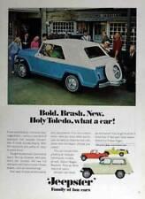 1967 JEEPSTER CONVERTIBLE ~ ORIGINAL PRINT AD