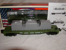 Lionel 6-39393 Made in U.S.A. Marines Flat Car O-27 2013 Armed Forces Collection