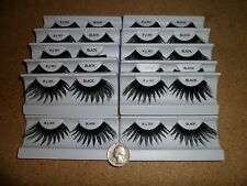 1 Dozen # 301 Extra Large Spikey False eyelashes Drag Queen Cross Dresser Dancer