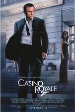 CASINO ROYALE MOVIE POSTER JAMES BOND +DANIEL CRAIG BNS