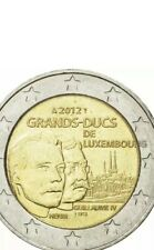 Luxembourg Coin 2€ Euro 2012 Commemorative William IV Guillaume New UNC from Rol