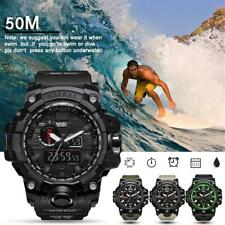 For SMAEL Waterproof Sports Military S Shock Men's Analog Quartz Digital Watches