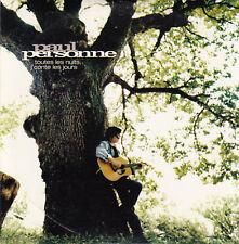 """CD SP 3 T PAUL PERSONNE """"TOUTES LES NUITS JE COMPTE LES JOURS""""  (PROMO)"""