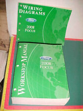 2008 FORD FOCUS FACTORY PRINT WORKSHOP MANUAL & WIRING DIAGRAMS MANUAL SET xlnt