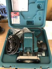Makita RP0900X 240v 1/4in and 3/8in Plunge Router + 2x Flush Trim Cutters