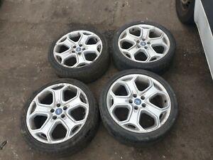 Ford Transit Connect Focus mondeo 18 inch Alloy wheels & tyres zetec st titanium