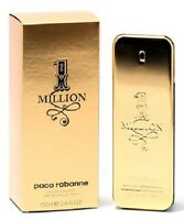 1 MILLION BY PACO RABANNE 3.4 OZ / 100 ML MEN'S EAU DE TOILETTE NEW & SEALED*^^^