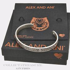 Authentic Alex and Ani Fortune's Favor Cuff Rafaelian Silver Bangle CUFF