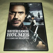Sherlock Holmes: A Game of Shadows DVD Robert Downey Jr Jude Law Guy Ritchie