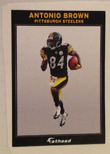 "Antonio Brown FATHEAD #2 Ad Panel 6"" x 4"" Steelers NFL Wall Graphics Sign Decal"