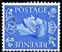 1942 Sg 489a 2½d Pale Ultramarine Watermark sideways Mounted Mint