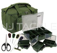 Pêche à La Carpe Fourre-tout et Tackle Box Bagages Sac Quickfish Combo Set NGT