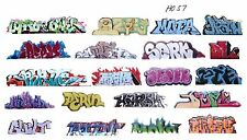 HO COLORFUL GRAFFITI DECALS ASSORTMENT 57  FREE SHIPPING DOMESTIC