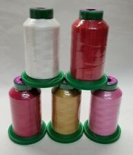 Valentine Kit - 5 pack of Isacord Embroidery Thread  -(New in wrapper)