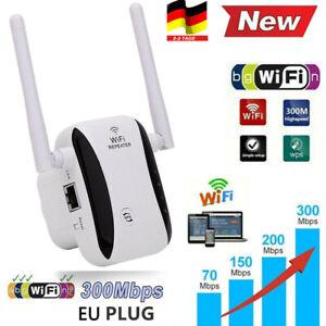 Wifi Range Extender Internet Booster Router Wlan Repeater-Verstärker 300Mbit /s