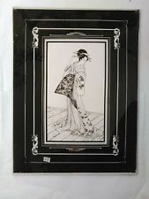 Dipinto su Vetro - Figura Femminile Orientale 28 - Hinterglasbild cm 40x30