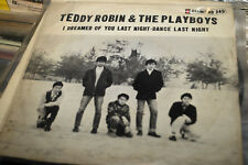 TEDDY ROBIN PLAYBOY I DREAM OF YOU LAST NITE  ORIG 1967 7 IDIAMOND VINYL  SINGL