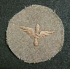WWI US Army Air Service Enlisted Specialist Winged Propeller Patch Embroidered