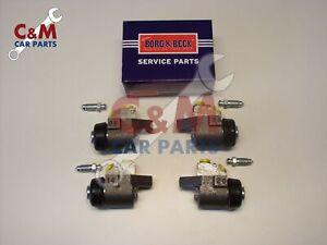 Anteriore Freno Cilindro Ruota Set di 4 per Austin per Rover Mini 1967-1984 B&b