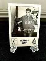 *Cassius Clay* Boxing Card GENUINE Original Olympic-Muhammad Ali