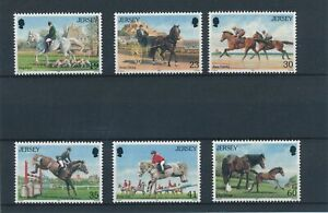 [338057] Jersey 1996 horses good set very fine MNH stamps