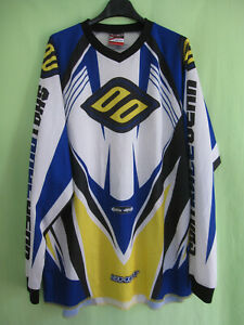 Maillot Motocross Shot Race Gear Moto Racing cross Vintage Jersey - L