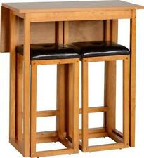 Wooden Living Room 3 Piece Table & Chair Sets
