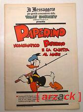 TOPOLINO supplemento a IL MESSAGGERO PAPERINO numismatico 8/12/90