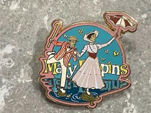 DISNEY MARY POPPINS MARY AND BERT PIN HOPPING ACROSS WATER HTF